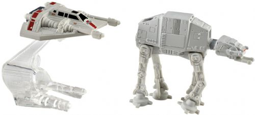 Star Wars Hot Wheels AT-AT vs Rebel Snowspeeder Playset